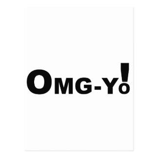 OMG-yo Postcard