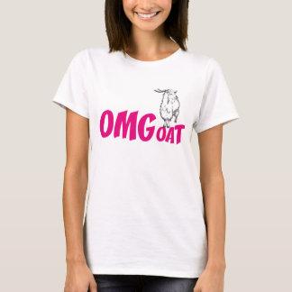 OMGoat Angora Goat  Goat Lovers OMG Pink T-Shirt