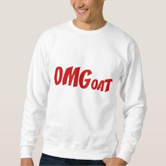OMGoat  Goat Lovers OMG Red Sweatshirt