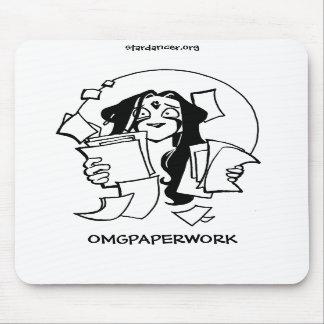OMGPAPERWORK Mousepad