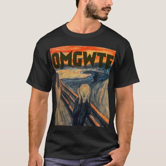 OMGWTF Scream T-Shirt