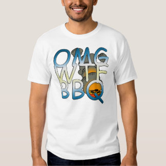 """OMGWTFBBQ"" T-shirt"