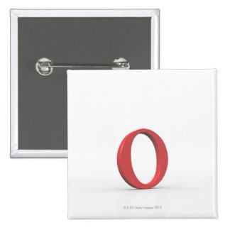 Omicron 2 pinback button