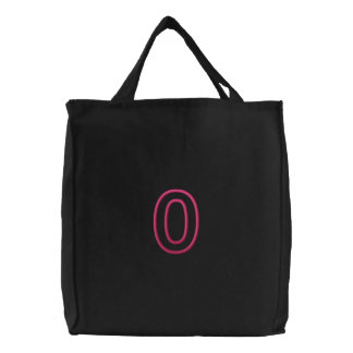 Omicron Applique (Part2) Embroidered Tote Bag
