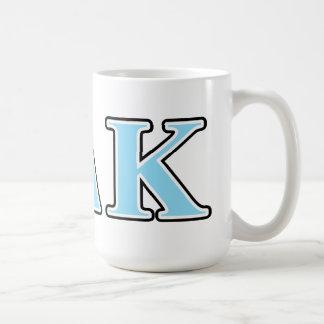 Omicron Delta Kappa Black and Blue Letters Coffee Mug