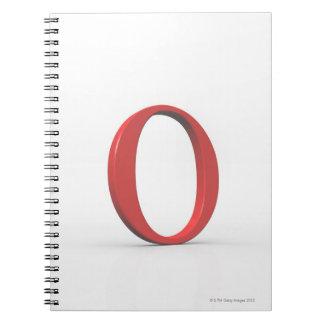 Omicron Spiral Notebook