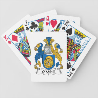 O'Mihill Family Crest Playing Cards
