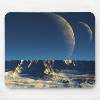 Omin Plateau - Planet Isis Mouse Pad