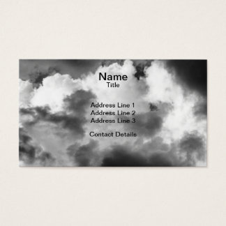Ominous Clouds Business Card