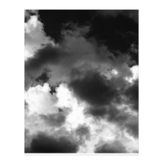 """Ominous Clouds 8.5"""" X 11"""" Flyer"""