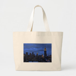 Ominous Clouds: Hurricane Sandy Approaches NYC Canvas Bags