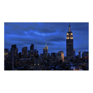 Ominous Clouds: Hurricane Sandy Approaches NYC Business Card