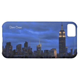 Ominous Clouds: Hurricane Sandy Approaches NYC iPhone 5C Cover