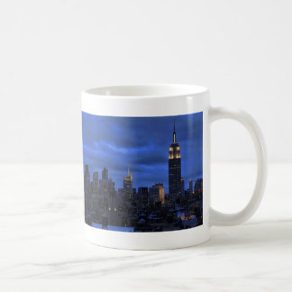 Ominous Clouds: Hurricane Sandy Approaches NYC Classic White Coffee Mug