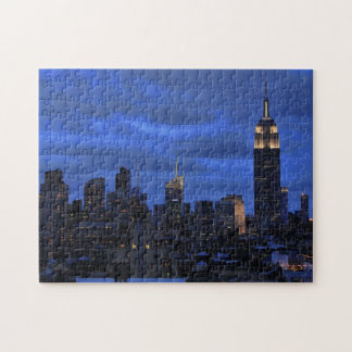 Ominous Clouds: Hurricane Sandy Approaches NYC Jigsaw Puzzles