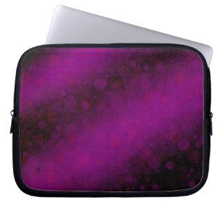 Ominous Purple Laptop Sleeves
