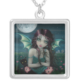 Ominously Sweet Vampire Fairy Necklace