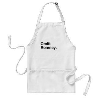 Omitt Romney png Delantales