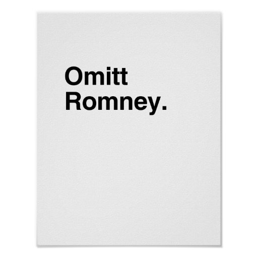 Omitt Romney.png Posters