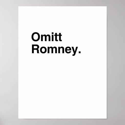 Omitt Romney.png Print