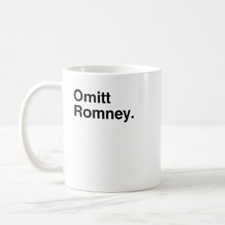 Omitt Romney.png Taza De Café