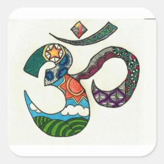 OmkarZen Square Sticker