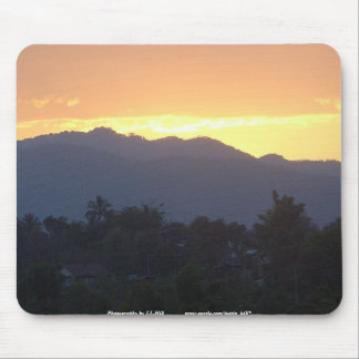 Omkoi Sunset Mouse Pad
