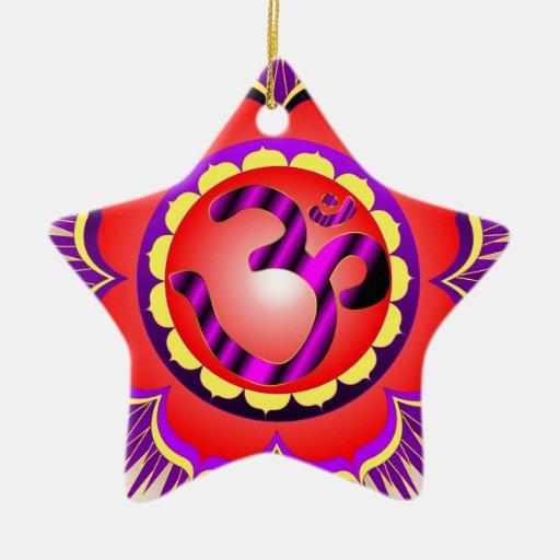 omLotus Ornaments Para Arbol De Navidad