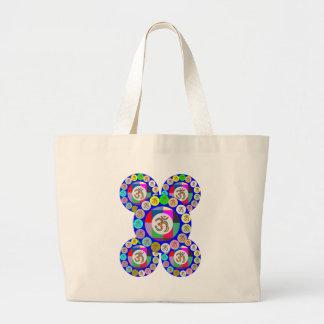 OMmantra - Breath Chant Meditate Canvas Bag