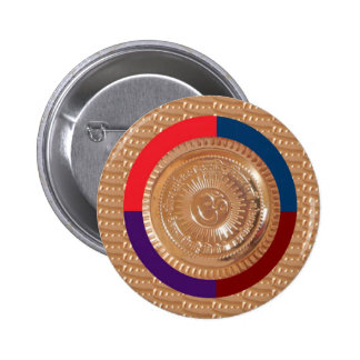 OMmantra mantra GAYATRI Chant Peace Happiness GIFT Pinback Button