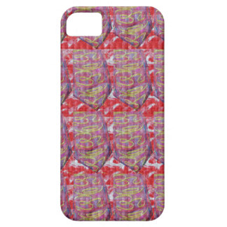 OMmantra mantra microart Ritual Ethnic Red Golden iPhone 5 Cover