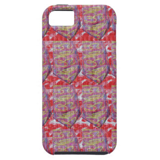 OMmantra mantra microart Ritual Ethnic Red Golden iPhone 5 Cases