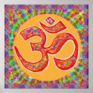 OMmantra Om Mantra Chants Print