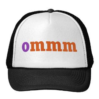 Ommm Meditation Design Hats
