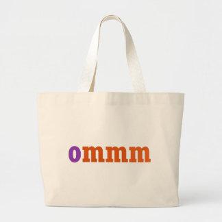 Ommm Meditation Design Large Tote Bag