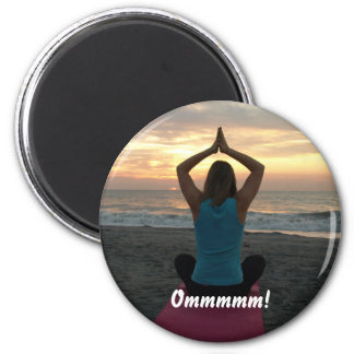 Ommmmm! 2 Inch Round Magnet
