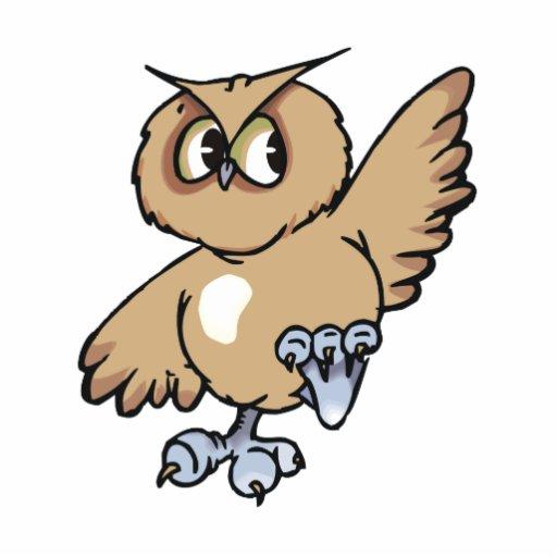 Omni Owl Standing Photo Sculpture