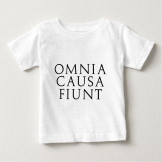 Omnia Causa Fiunt Baby T-Shirt