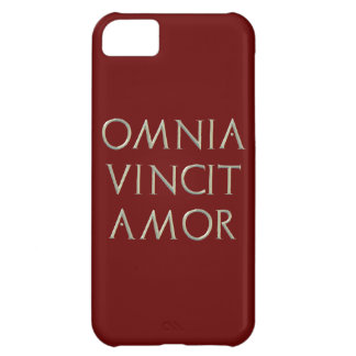 Omnia Vincit Amor iPhone 5 Cover