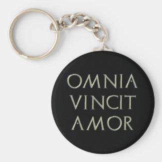 Omnia Vincit Amor Keychain