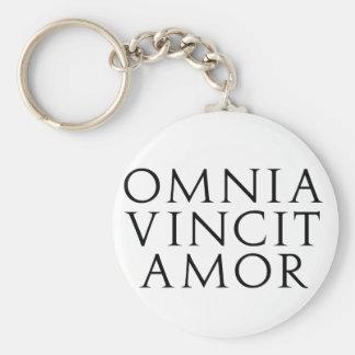 Omnia Vincit Amor Llaveros