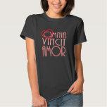 Omnia Vincit Amor Love Conquers All Shirts