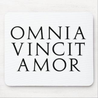 Omnia Vincit Amor Mouse Pad