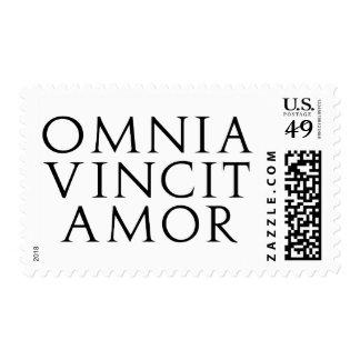 Omnia Vincit Amor Postage