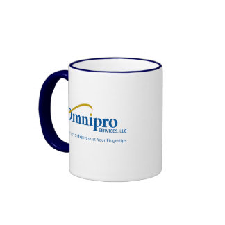 Omnipro Services Coffee Mug with Tagline