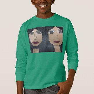 Omniscient Couple Kid's Long Sleeve T-Shirt