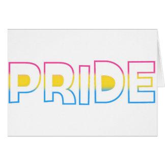 Omnisexual/Pansexual Pride Card