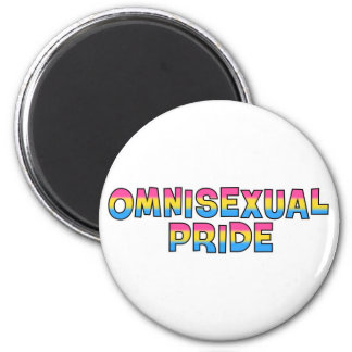 Omnisexual Pride 2 Inch Round Magnet