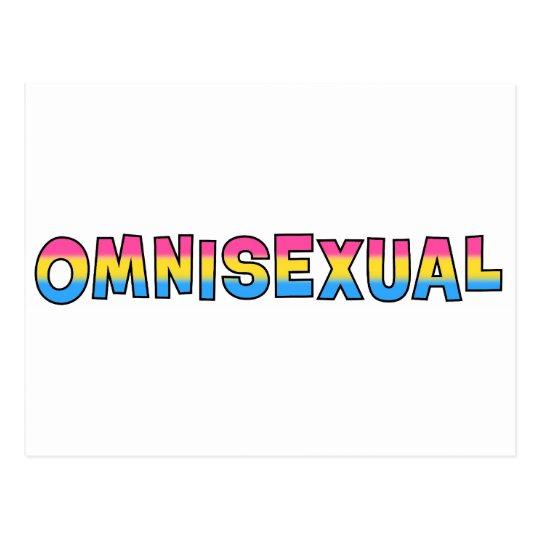 Omnisexual Pride Postcard