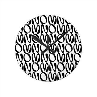 OMNOMNOM 1 ROUND CLOCK